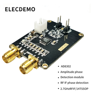 Image 2 - AD8302 moduł czujnikowy fazy amplitudy szerokopasmowy moduł detektora fazy logarytmicznej wzmacniacza 2.7G częstotliwość radiowa IF