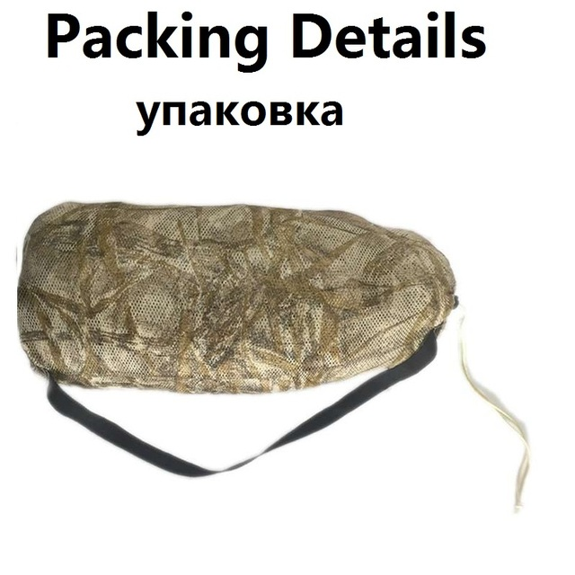 3D Withered Grass Ghillie Suit 4 PCS Sniper Military Tactical Camouflage Clothing Hunting Suit Army Hunting Clothes Birding Suit 5