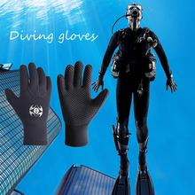 3 мм Неопреновые Холодостойкие Зимние перчатки для плавания, подводного плавания, дайвинга