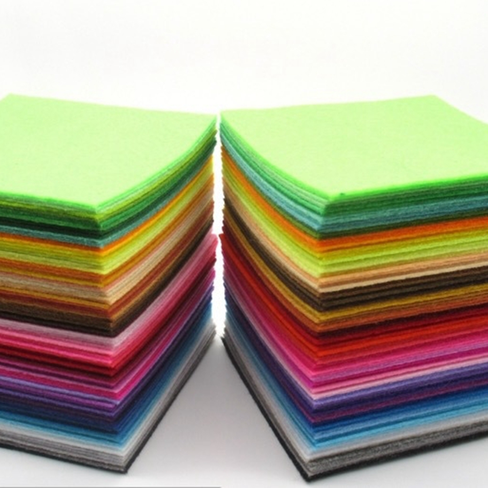 Felt Cloth,Felt Fabric 1PCs 40x50cm,1mm Thickness Polyester Non-Woven,Cloth For Sewing Dolls Crafts,Fabric Supply,Free Shipping,WORLDWIDE