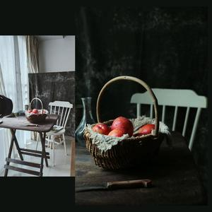 Image 2 - Dark Tone Photo Background Backdrop Food Photography Stage Property Tablecloth