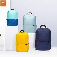 Orijinal Xiaomi Mi küçük sırt çantası 7L 10L renkli eğlence spor göğüs paketi çanta Unisex erkekler kadınlar için seyahat kamp
