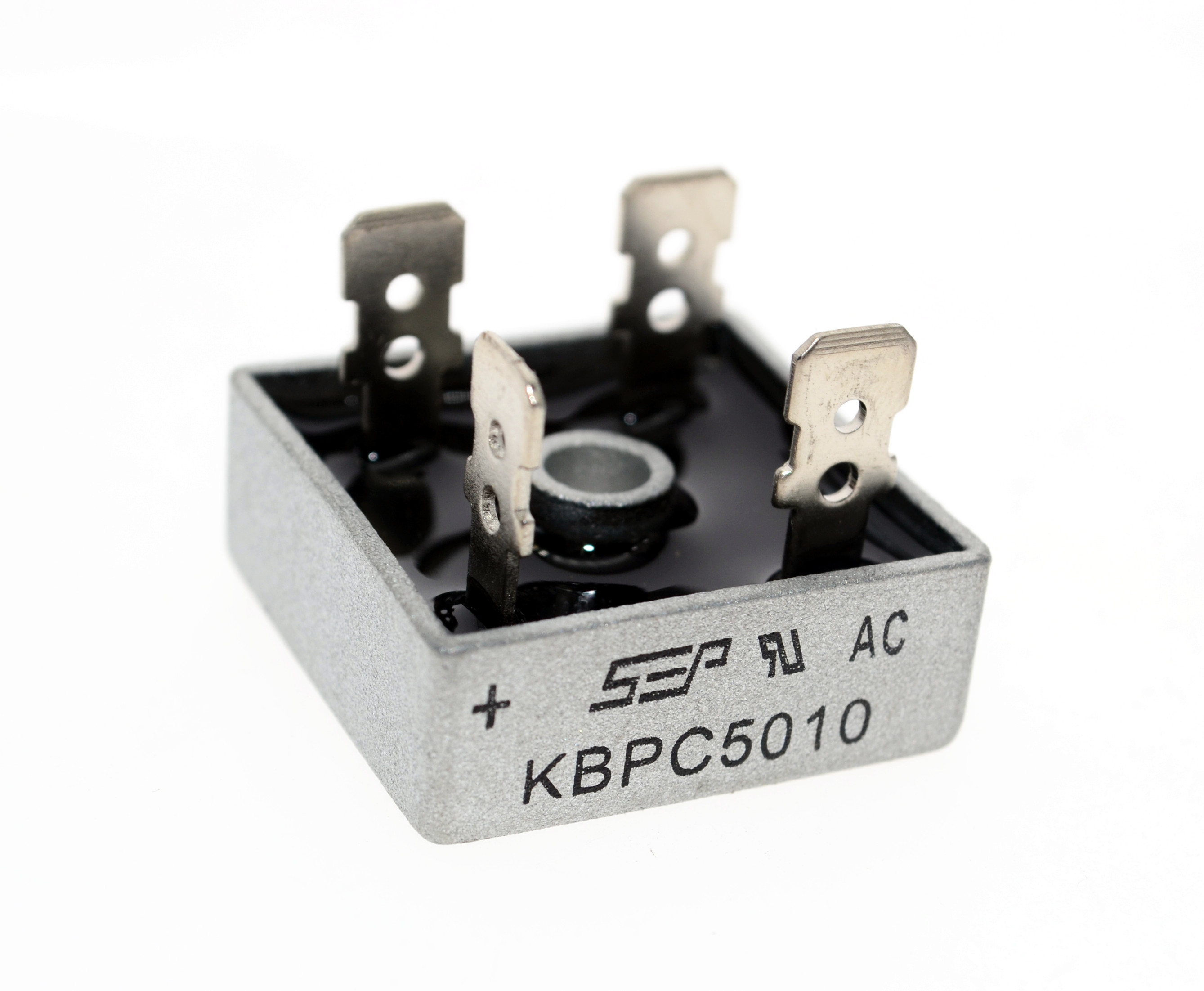 Free Shipping 10pcs KBPC5010 Fangqiao 50A1000V SEP Genuine Single-phase Bridge Rectifier Quality Assurance
