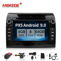 MEKEDE 4G+64G Android 9.0 Car Radio DVD Player Multimedia For Fiat Ducato 2008 2015 Citroen Jumper Peugeot Boxer BT wifi GPS