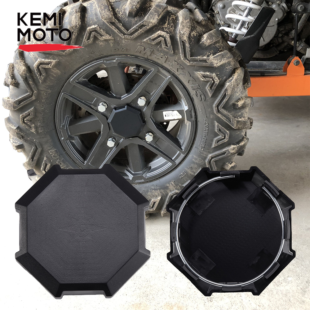 KEMiMOTO Wheel Tire Rim Hub Center Cap Cover For Polaris RZR 1000 RZR 900 S 1000 XP Turbo 1000 XP Turbo 2014 2015 2016 2017