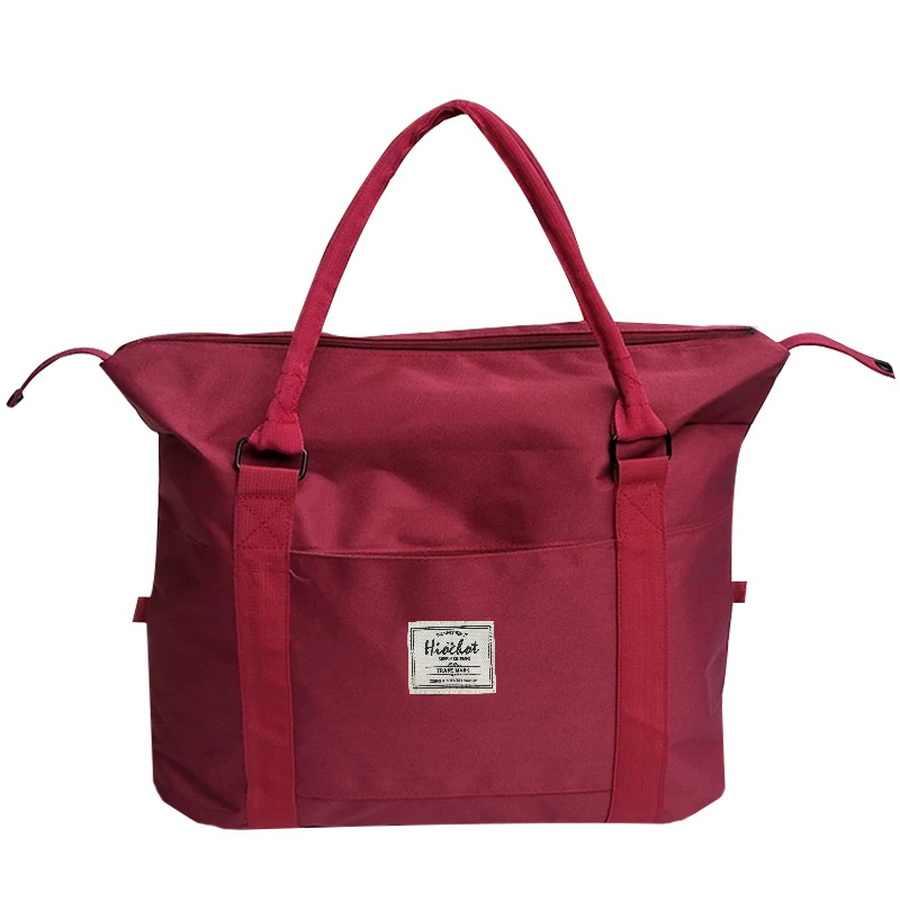 Impermeable bolsa de viaje bolsos de hombro Tote maleta de viaje para deportes de vacaciones
