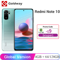Versión Global Xiaomi Redmi Nota 10 4GB RAM 64GB / 128GB ROM teléfono móvil Snapdragon 678 de 6,43