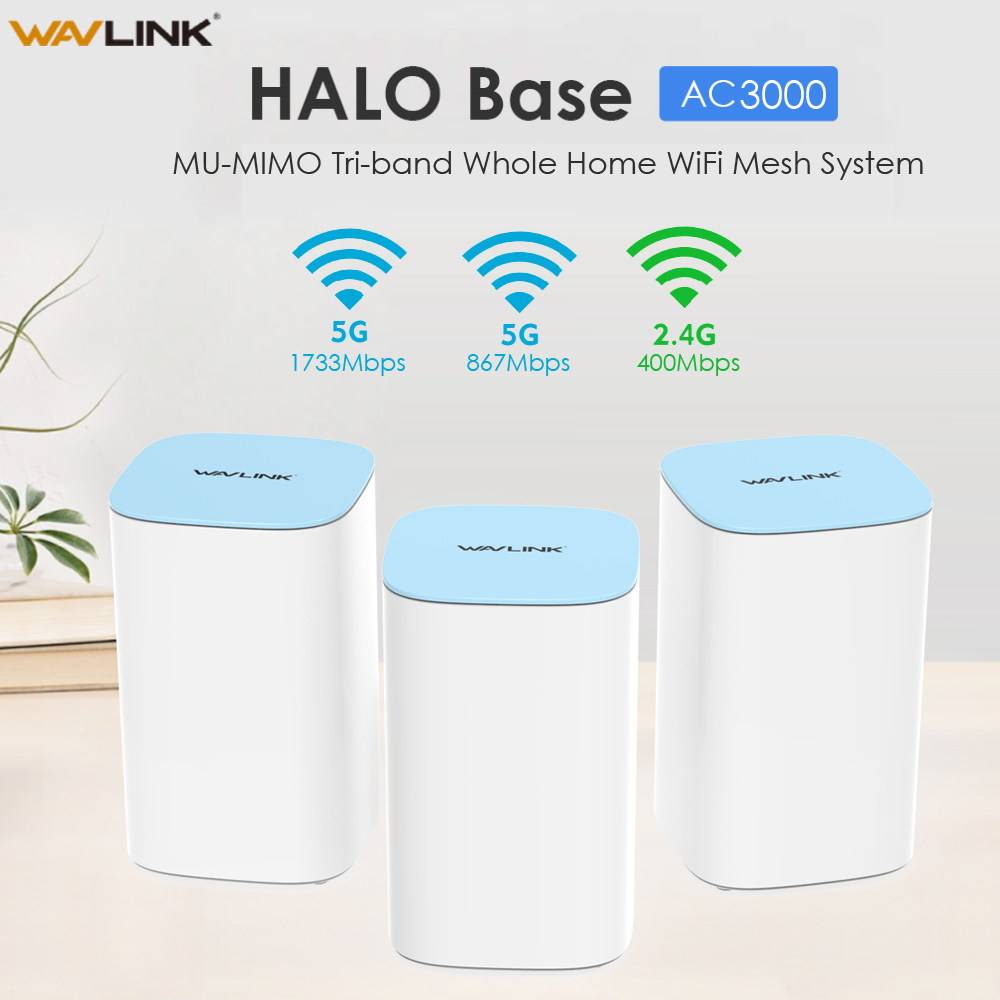 MU-MIMO Full Gigabit Wifi Router AC3000 Wireless WiFi Router 2.4G+5Ghz Tri-band Whole Home WiFi Mesh System WiFi Repeater Bridge