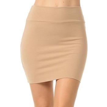 MIARHB Skirts Womens Plus Size High Waist Classic Simple Stretchy Tube Pencil Mini Sexy Skirt Faldas Mujer Moda 2020 Miniskirt 4
