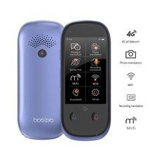 Boeleo W1 Pro çevirmen 3.0 inç dokunmatik ekran 4G/WiFi/Hotspot/çevrimdışı desteği 117 dil kayıt ile/Fotoğraf çeviri