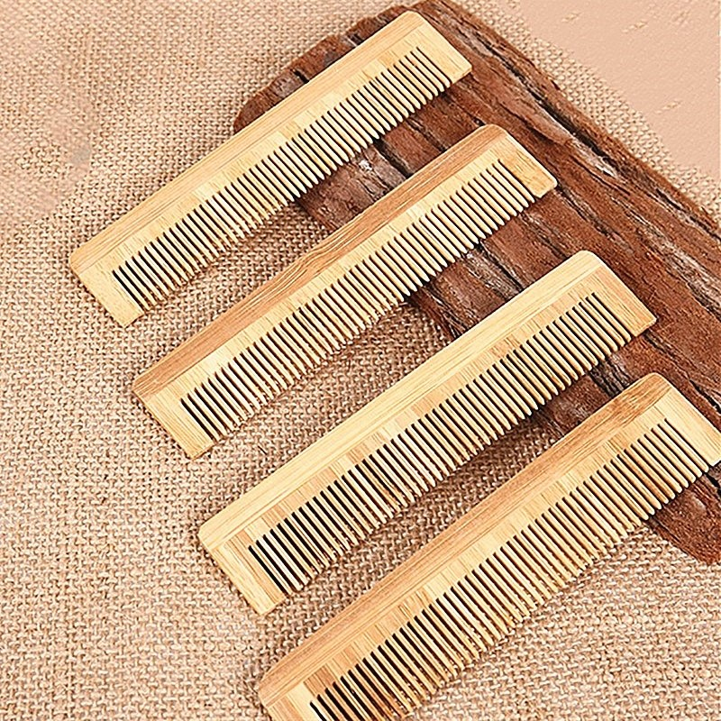 2020 New Massage Wooden Comb Bamboo Hair Vent Brush Hair Care SPA Massager Brush Promote Blood Circulation Hair Styling Brush