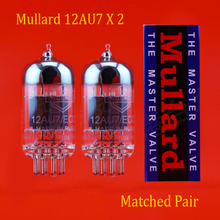 شحن مجاني 2 قطعة مولراد 12AU7/ECC82 فراغ أنبوب تضاهي زوج اكسسوارات Repalce و Psvane EH JJ شو قوانغ 12AU7