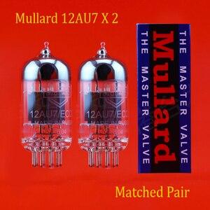 Image 1 - משלוח חינם 2pcs Mullard 12AU7/ECC82 אבק תואם אביזרי Repalce Psvane EH JJ shuguang 12AU7