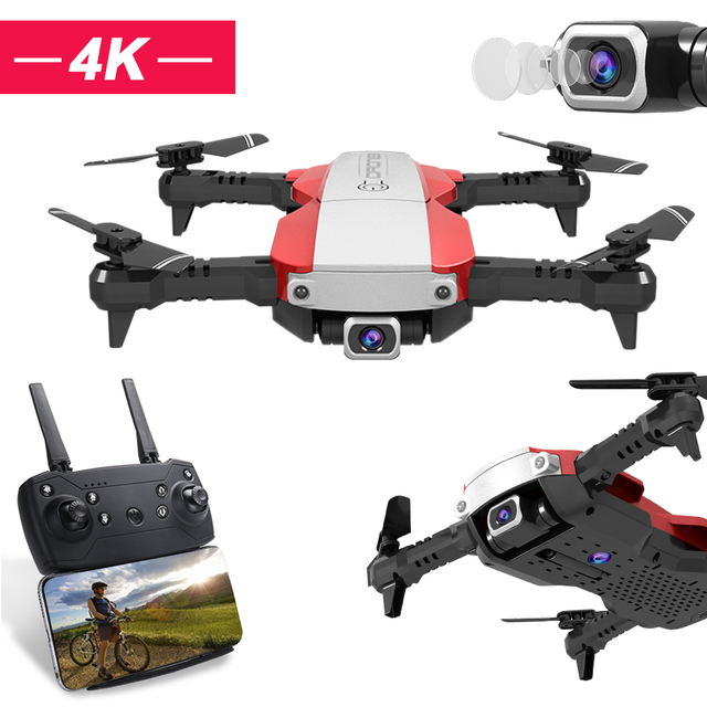 H3 Mini Drone with 4K Camera HD Foldable Drone One Click Return FPV Quadcopter Follow Me RC Helicopter Quadrocopter Children Toy
