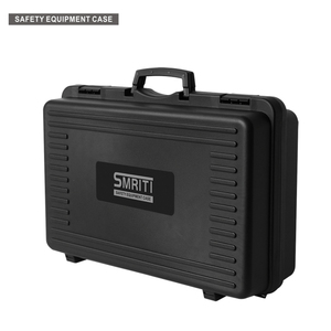 Toolbox large thick plastic suitcase lined with sponge custom shockproof instrument and equipment maintenance storage case