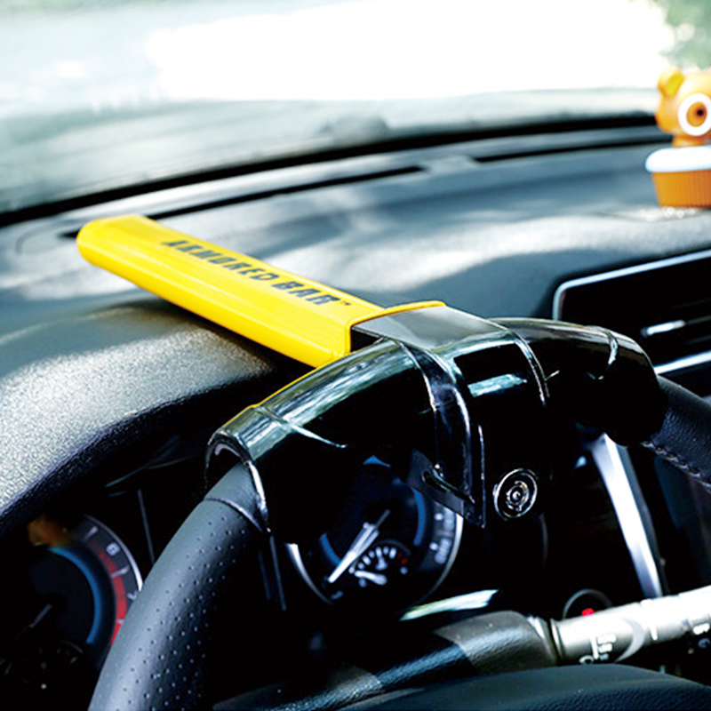 Universal Car Steering Wheel Lock Heavy Duty Anti-theft  Car/Van Security Rotary Steering Wheel Lock Enhance Automobile Security
