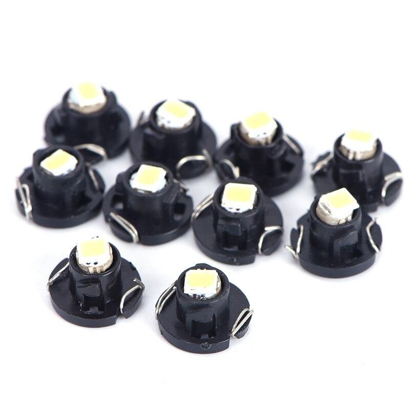 Автомобильная приборная лампа T3 T4.2 t4.7 1smd 1210, светодиодная лампа для инструмента, лампа для кондиционирования воздуха, лампа для часов