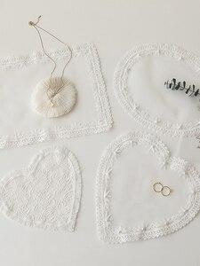 Image 3 - Accessoires de photographie en tissu de dentelle, broderie, Accessoires pour Studio de photographie, bijoux, boissons pour ongles