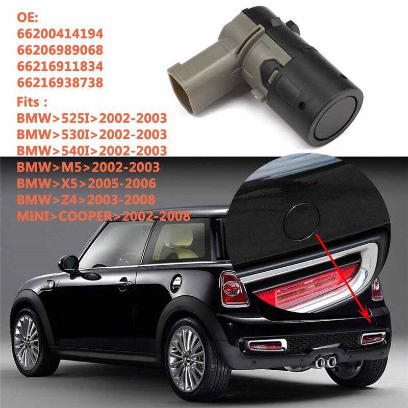 4 pcs NEW PDC Parking Sensor 66206989068 For BMW E38 E39 E46 E53 E60//61 E65//66