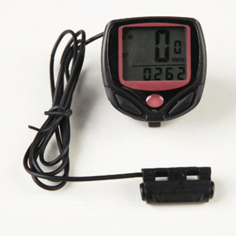 Водонепроницаемый велосипедный компьютер MTB велосипедный одометр секундомер Спидометр светодиодный цифровой измеритель пробега запись Аксессуары для велосипеда|Велокомпьютеры|   | АлиЭкспресс
