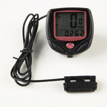 Waterproof Bicycle Computer MTB Bike Odometer Stopwatch Speedometer LED Digital Rate Mileage recording Bicycle Accessories new arrival odometer bike meter speedometer digital lcd bicycle computer clock stopwatch