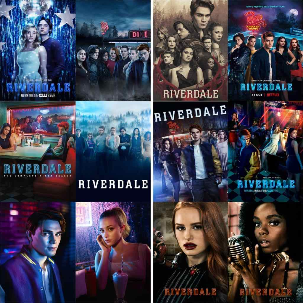 Riverdale Poster Wand Aufkleber High Definition Glossy Papier Hause Wand Dekoration freeshipping