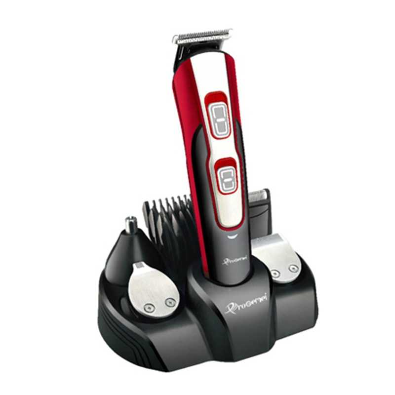 10w1 zestaw do pielęgnacji elektryczna maszynka do włosów dla mężczyzn maszynka do włosów golarka ciała groomer trymer do brody twarzy trimer ścinanie włosów maszyna