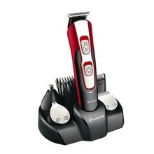 Kit de aseo 10 en 1 para hombre, maquinilla eléctrica para cortar el pelo, afeitadora, afeitadora corporal, recortador de barba, Máquina para cortar cabello facial
