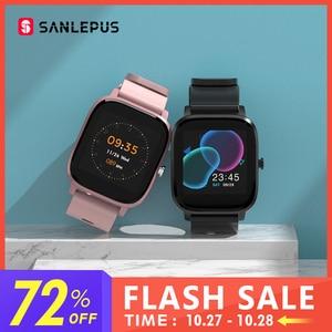 SANLEPUS глобальная версия Смарт-часы IP67 водонепроницаемые Смарт-часы 2020 Новые мужские и женские фитнес-браслет для Android Apple Xiaomi