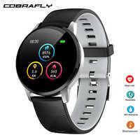 Cobrafly Y16 Smart Uhr IP67 Wasserdichte Fitness Tracker Heart Rate Monitor Uhr sport Smartwatch für männer frauen PK Q9 miband 4