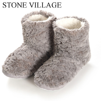 2020 Plush Slippers women Plush Lining Slip-on House Shoes home slippers Soft Fleece Plush Warm Indoor Slipper Shoes Women winter home slipper man women despicable me minions slippers plush stuffed funny slippers flock indoor house shoes adult cosplay