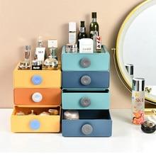 Organizador para cosméticos tipo gaveta casa desktop penteadeira prateleira material de escritório cozinha gaveta organizador lancheira