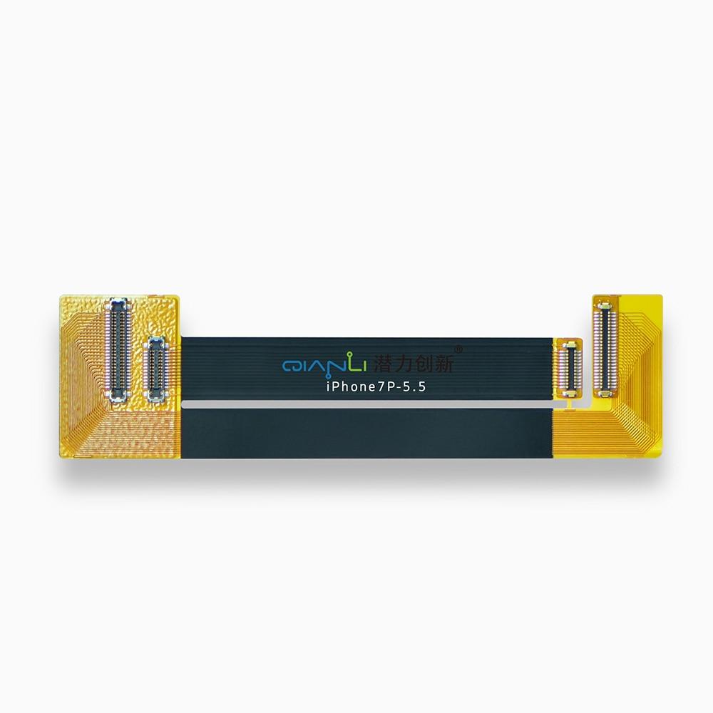 Купить с кэшбэком QIANLI Original connector Test cable for iphone7-4.7/7P-5.5/6P/5S/6S-4.7/6SP-5.5