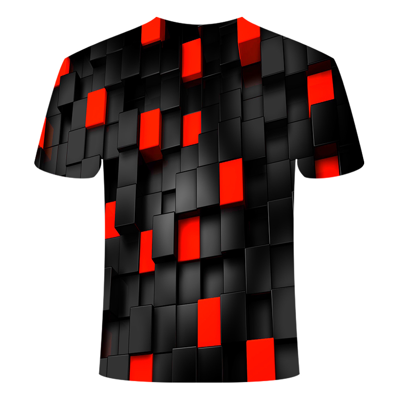 2019 Fashion New Summer Men Tshirt Phantom Printing T shirt Men/Women Leisure Short Sleeve O-collar T-shirt Clothing Asian Size