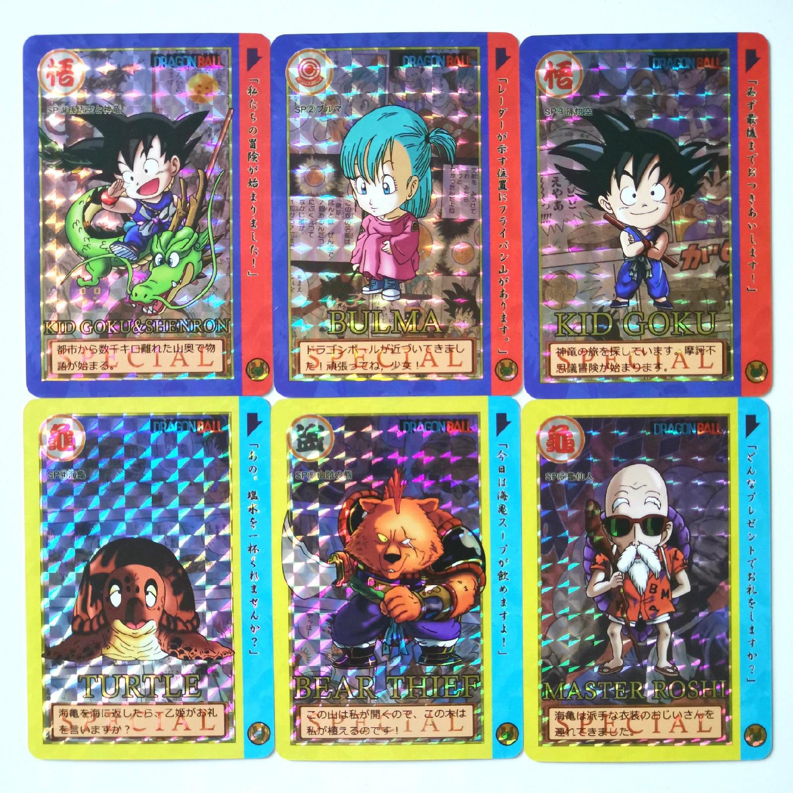 21pcs/set Super Dragon Ball Z Q Version Of The Adventure Heroes Battle Card Ultra Instinct Goku Vegeta Game Collection Cards