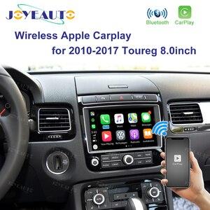 Joyeauto Wifi беспроводной Apple Carplay для 2010-2017 Volkswagen Toureg Golf с зеркалом iOS13 Android, авто зеркало в форме яблока