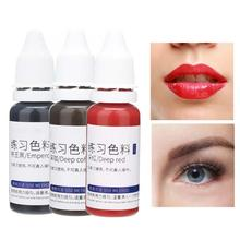 Tattoo-Ink Practice Fast-Coloring Makeup-Tool Permanent for Beginners 15ml Plant-Extract