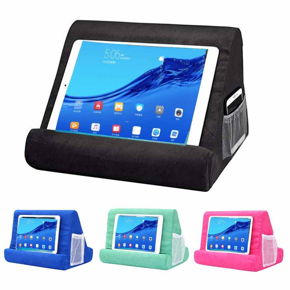 Sisanya Cushion untuk Laptop iPad Holder Tablet Bantal Busa Lapdesk Multifungsi Laptop Cooling Pad Tablet Stand Pemegang Stand Lap
