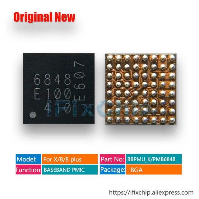 5 stücke 10 stücke/lot 100% Neue BBPMU_K Für iPhone x/8/8 Plus/8 Plus für intel version BASISBAND PMIC Power Chip IC