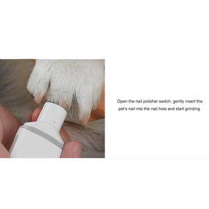 Image 5 - YouPin pawbby cortauñas eléctrico recargable con USB para mascotas, cuidado de mascotas saludable, 2020