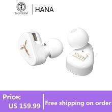 TANCHJIM – écouteurs intra-auriculaires HANA, à diaphragme LCP dynamique, DMT, troisième génération, HiFi, oxygène