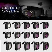 Sunnylife для Mavic мини-фильтры для объектива камеры UV CPL ND4 NDPL Профессиональный фильтр для DJI Mavic Mini Quadcopter Drone аксессуары