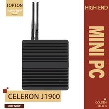 Мини ПК, Intel Celeron N3160 процессор Windows 7(64-бит) Мини-настольный компьютер с четырехъядерным процессором HDMI/VGA Порты и разъёмы Wi-Fi, Bluetooth, Мини компьютер