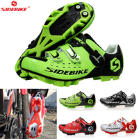 sidebike cycling shoes mtb man women racing bicycle MTB shoes mountain bike sneakers professional self locking breathable Shoes|Cycling Shoes| |  -
