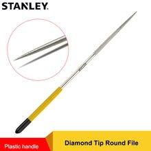 Стэнли 140/160/180 мм круглые алмазные игольчатые напильники