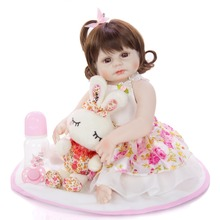 48 cm Newborn Baby Simulation pirncess Doll waterproof Vinyl Reborn girls Kindergarten Lifelike bebe reborn Model Toy
