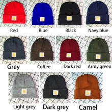 New Women Beanie Hat High Quality Men Letter Pattern Knit Winter Keep Warm Cap S