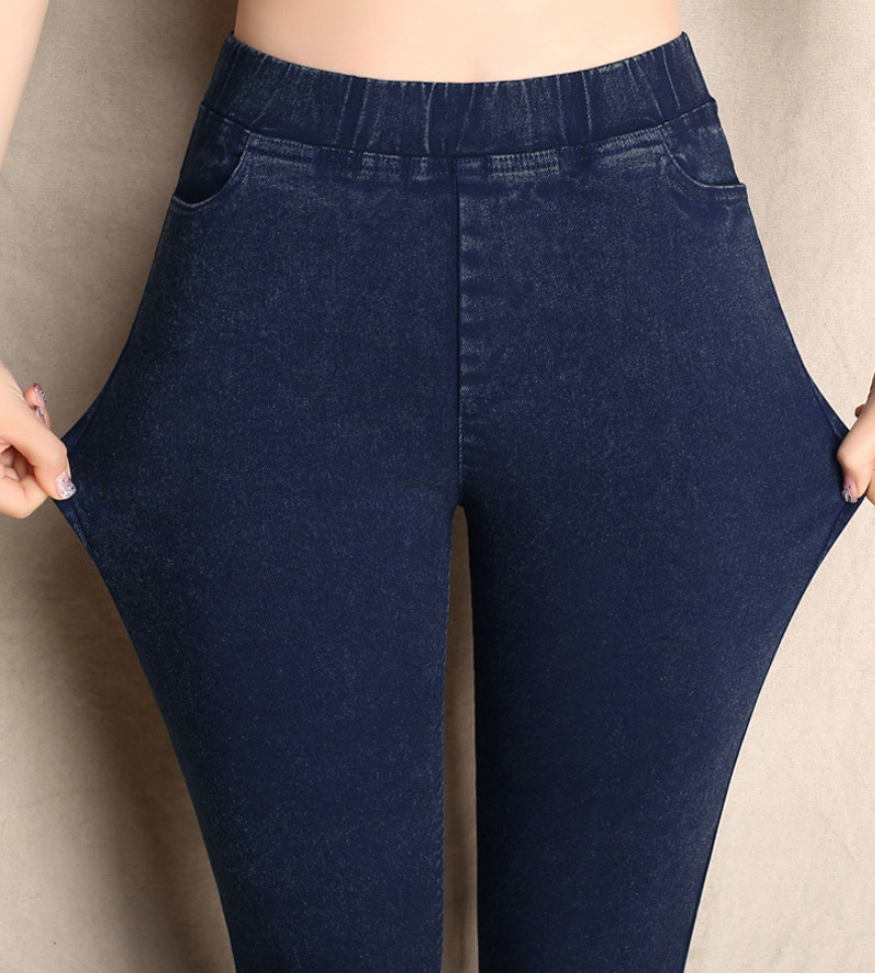Large Size S-6XL Trousers For Women Winter High Waist Skinny Slim Womens Pants Female Stretch Pencil Pant Pantalon Femme