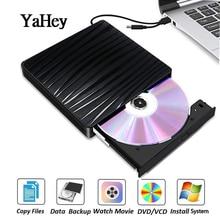 External Type C DVD/CD RW Burner Recorder Drive Optical USB 3.0 ROM Player Rewriter for Laptops Notebook Desktops