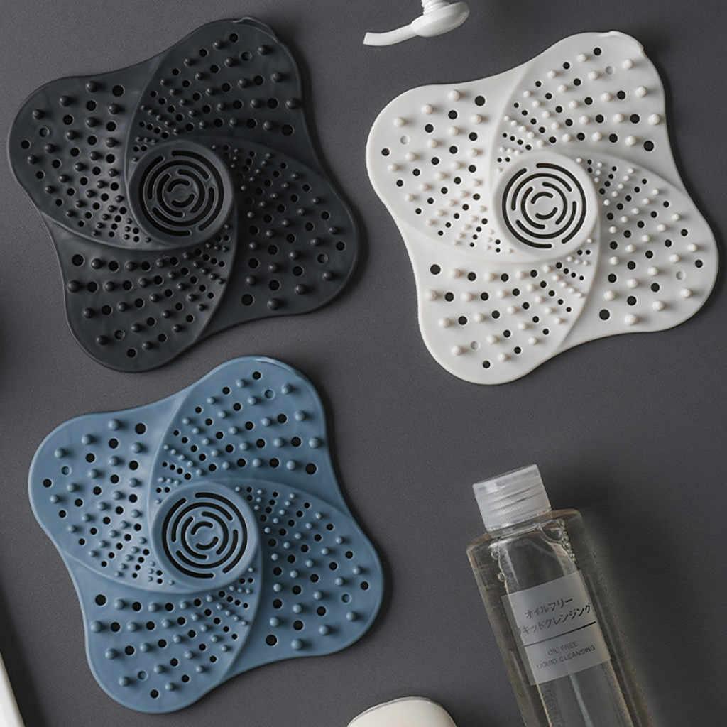 عززت الحمام استنزاف تصفية الشعر الماسك الاستحمام سدادة المطبخ التوصيل مصفاة حوض الاستحمام تصفية مكافحة انسداد صافي 64P